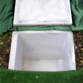 Kolumbarium urnowe. Wymiary: 55x55x55 cm, możliwe też inne rozmiary.