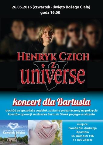koncert dla bartusia