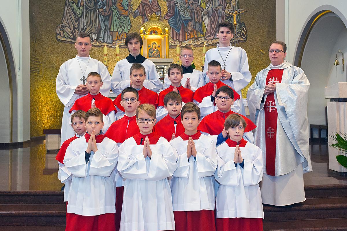 Ustanowienie Ministrantów 2016 - Uroczystość Chrystusa Króla Wszechświata
