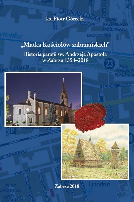 okładka książki - matka kościołów zabrzańskich