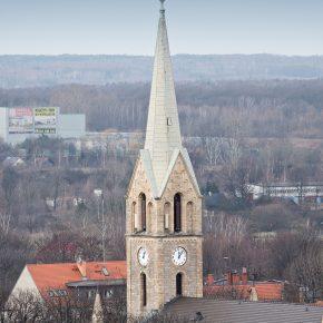 kościół - widok z wieżowca (3)