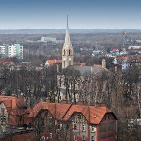 kościół - widok z wieżowca (4)