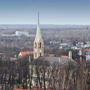 kościół - widok z wieżowca (5)