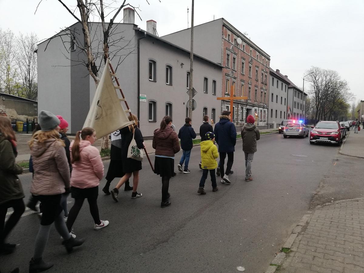 Droga Krzyżowa Ulicami Zabrza 2019