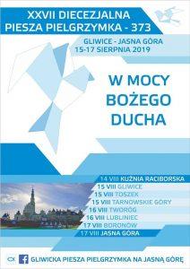 pielgrzymka 2019 gliwice jasna góra