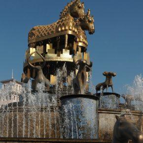 04. Kutaisi - fontanna kolchidzka