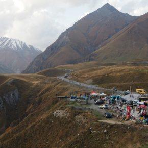38. Kaukaz - Droga Wojenna - Przełęcz Krzyżowa