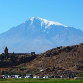 42. Armenia - Monastyr Khor Virap i Ararat