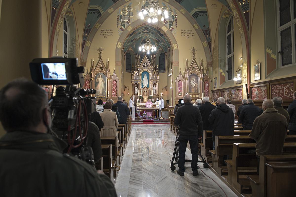 Msza Święta - Sanktuarium Miłosierdzia Bożego-Łagiewniki