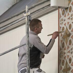 malowanie kościoła (2)